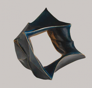 bronze bleu plié 2